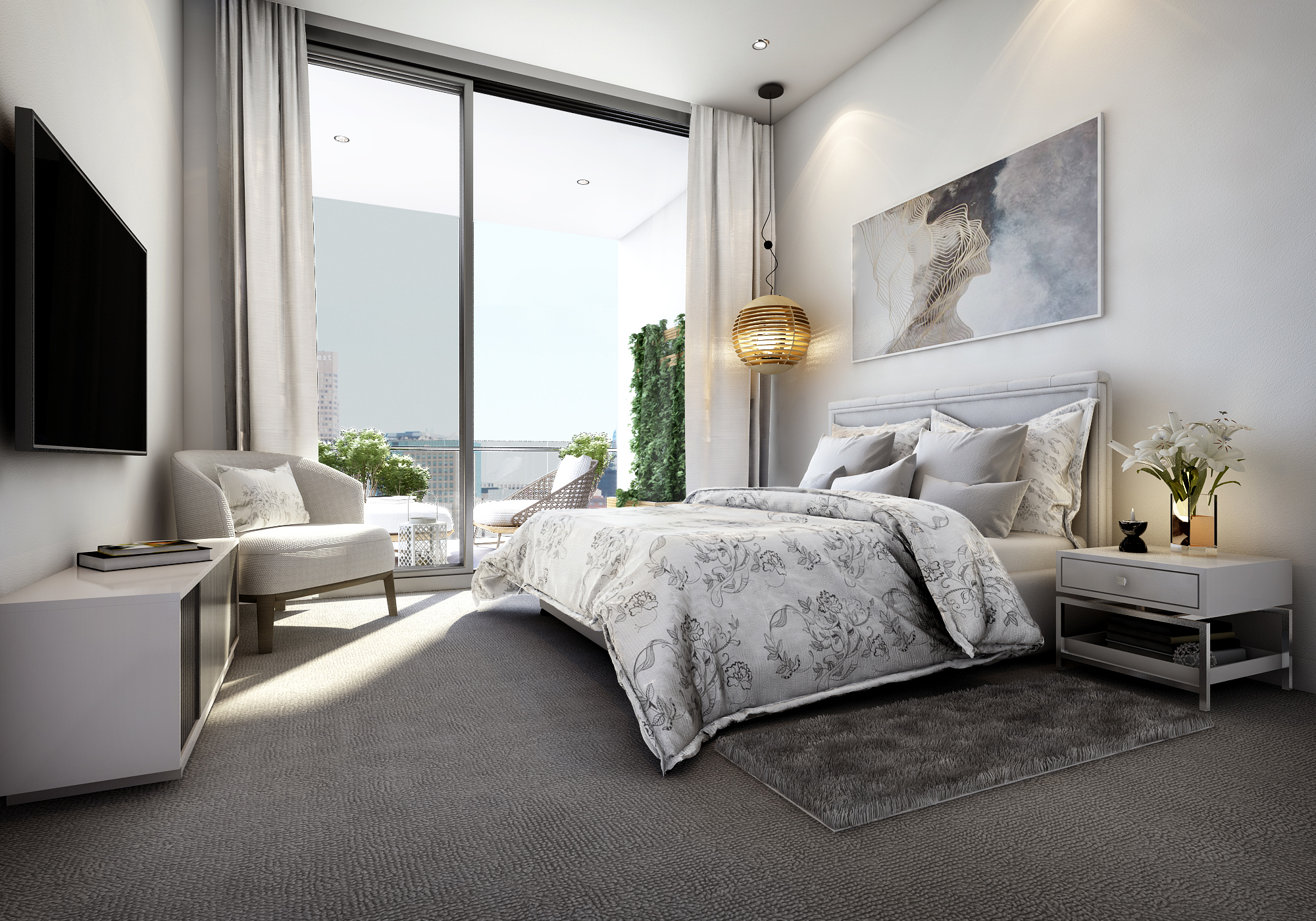 Rushcutters Bay  Encore_Bedroom